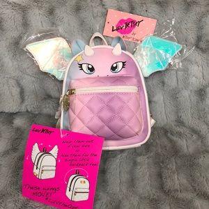 Betsey Johnson Mini Dragon Backpack